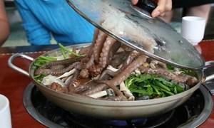 Những món ăn sống làm thực khách ghê sợ ở Hàn Quốc