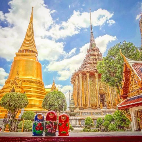 Giữa muôn vàn điểm đến nổi tiếng của châu Á, cô bạn lựa chọn tới Bali, Kuala Lumpur ở Malaysia, Angkor Wat ở Campuchia và Tokyo ở Nhật Bản.