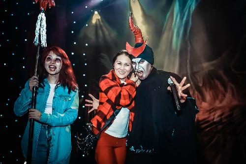 Trải nghiệm thú vị tại TTC World - Thung lũng tình yêu dịp Halloween
