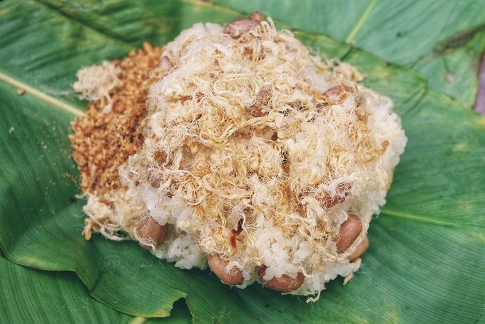 Bốn món xôi vỉa hè của người Hà Nội