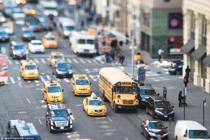 New York tí hon trong ống kính của nhiếp ảnh gia Bỉ