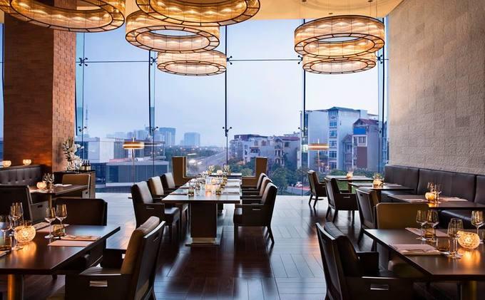 Bếp ăn trong khách sạn đón ông Tập Cận Bình tại Hà Nội
