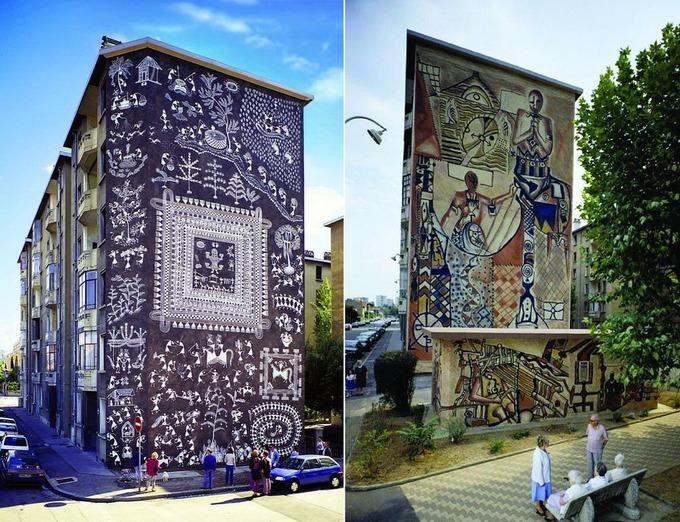 Lyon - thành phố của những bức tranh khổng lồ