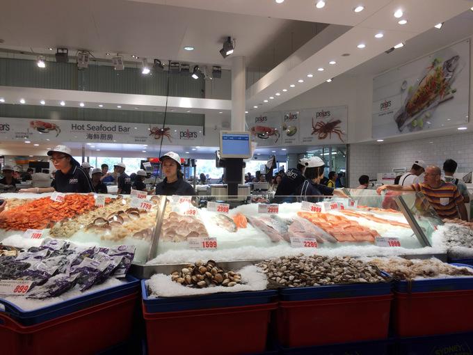 Chợ cá lớn nhất Sydney ngày càng hút khách Việt