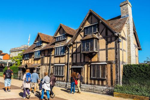 Ngôi nhà của đại văn hào Shakespeare.