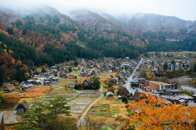 Ngôi làng như bước ra từ cổ tích ở Nhật