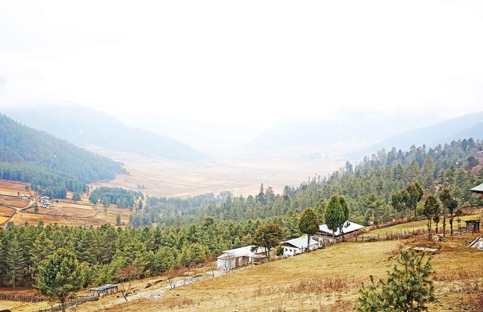 Vẻ đẹp của mùa đông Bhutan