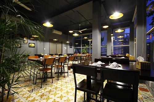 Không gian nhà hàng Thai Market.