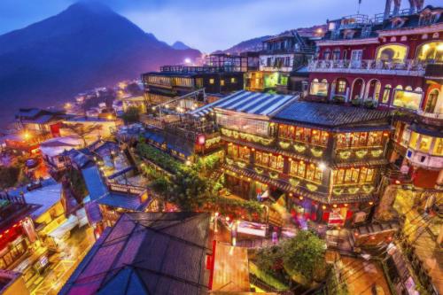 Đài Loan trở thành điểm đến hot cả dịp Tết dương và Tết Nguyên đán. Ảnh: CheapTickets.