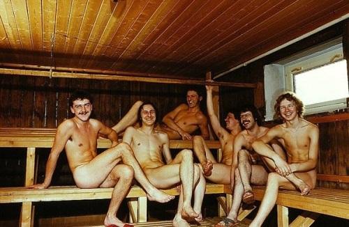 Căn phòng sauna ở Đức