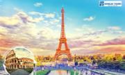 Du lịch châu Âu đầu xuân 2018 tại Pháp, Thụy Sĩ, Italy