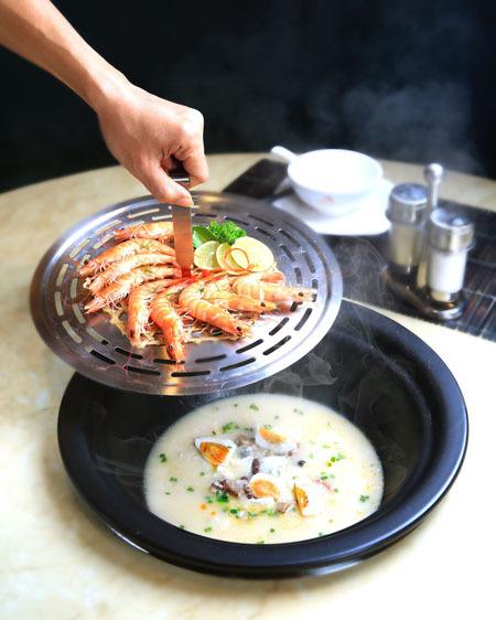 Bằng công nghệ hấp thuỷ nhiệt, món ăn giữ được dinh dưỡng cao
