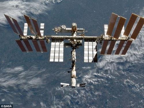Khách sạn 5 sao sẽ được xây trên trạm ISS. Ảnh: NASA