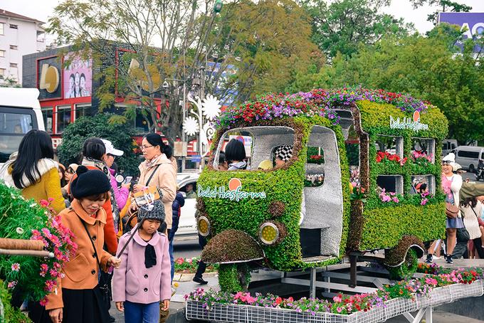 Các điểm chụp hình miễn phí tại Festival Hoa Đà Lạt