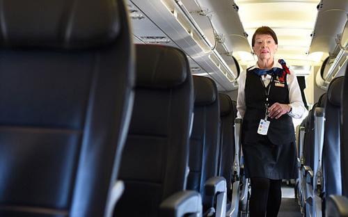 Chuyến bay quen thuộc của Bette là Washington - Boston - Washington. Ảnh: AFP.