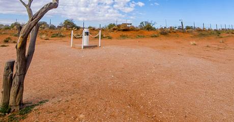 Cameron Corner - nơi có 3 múi giờ cùng gặp nhau ở Australia. Ảnh: OutbackNSW.