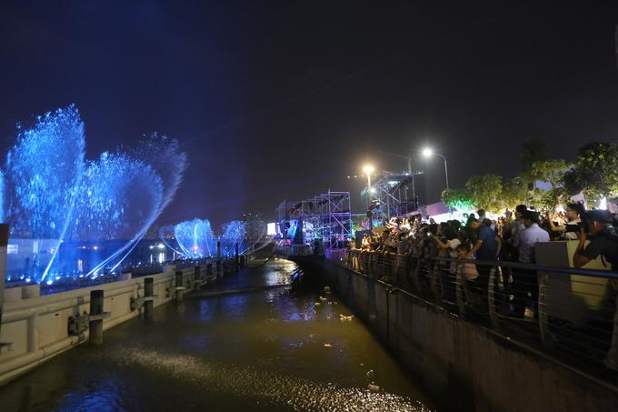 Dàn nhạc nước triệu USD chào đón năm mới tại Nam Sài Gòn