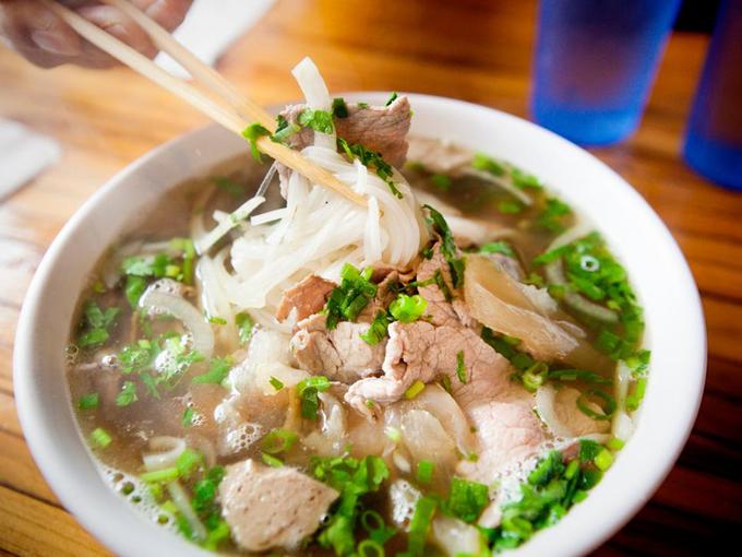 Phở Việt Nam vào top các món phải thử trên thế giới