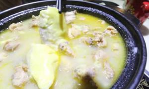 Lẩu gà sầu riêng ở Trung Quốc: Món kinh dị hay ngon lành?