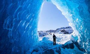 Động băng bí ẩn dài hơn 19km ở Alaska