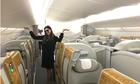 Chuyến bay chở duy nhất một hành khách