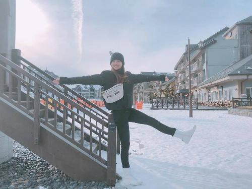 Hồ Ngọc Hà cùng con trai Subeo có chuyến điHàn Quốc