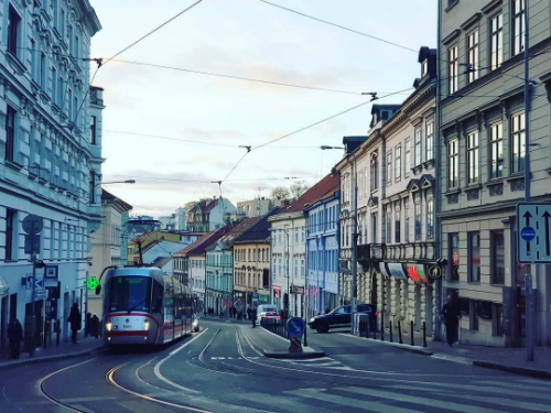 Vẻ đẹp yên bình của thành phố Brno, CH Czech. Ảnh: Hoàng Lê Giang.
