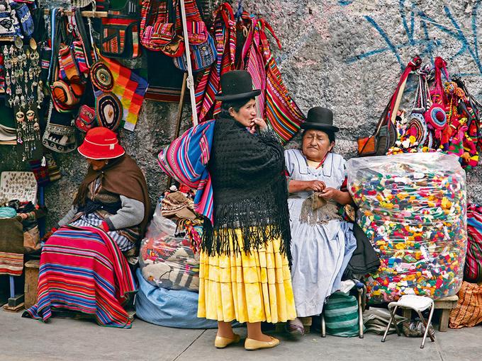 Bên trong khu chợ phù thủy nổi tiếng ở Bolivia