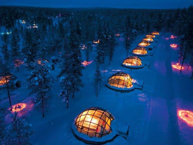 7 trải nghiệm du lịch chỉ có vào mùa đông