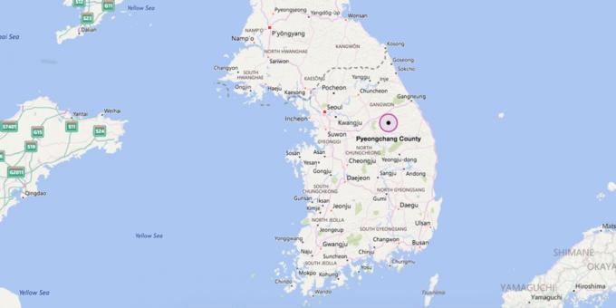 Pyeongchang, nơi an toàn bậc nhất Hàn Quốc để tổ chức Olympic