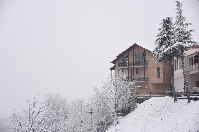 Mùa đông tuyết trắng ở Tây Á