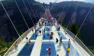 Những cây cầu đáy kính mới ở Trung Quốc
