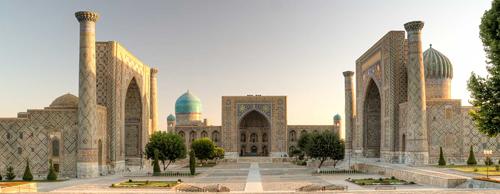 Uzabekistan nằm kín trong lục địa và không có con sông nào đổ ra biển. Quốc gia này cũng có một số ga tàu điện ngầm được vào top đẹp nhất thế giới, theo Factlife. Ảnh: Nationsonline.
