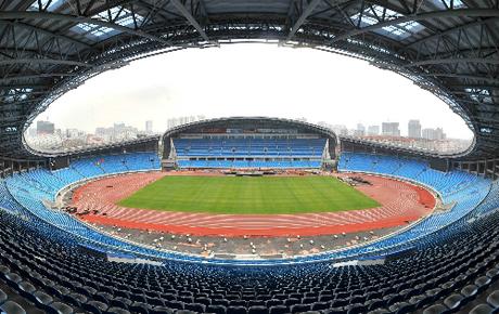 Sân vận động Thường Châu thành đích đến yêu thích của du khách Việt trong những ngày tới. Ảnh: CZ.