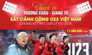 Mở hàng loạt tour đi Thường Châu cổ vũ U23 Việt Nam