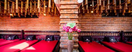 Phong cách trang trí nổi bật mang đến không gian thư giãn, nghỉ ngơi lý tưởng dành cho du khách.