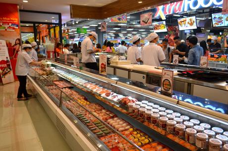 Ngày 25/1, Sushi Corner ra mắt tại Co.op Extra (tầng B1) thuộc Vạn Hạnh Mall, số 11 Sư Vạn Hạnh, phường 12, quận 10, TP HCM.