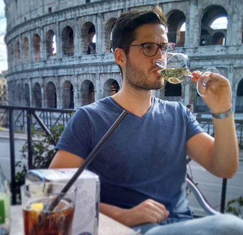 Anthony đã đặt chân tới 20 thành phố ở châu Âu, trong đó phải kể đến Rome. Ảnh: News.