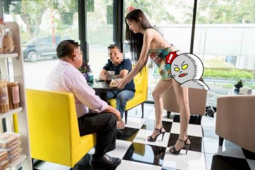 Nhiều người Thái cho biết họ cảm thấy xấu hổ khi nhìn thấy những hình ảnh như thế này. Ảnh: Phuketnews.