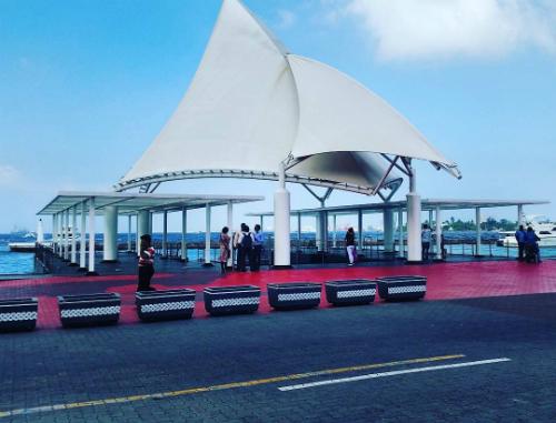 Nhiều du khách vẫn cập nhật hình ảnh yên bình ở thủ đô Male, Maldives ngày 7/2. Ảnh: Axim007.