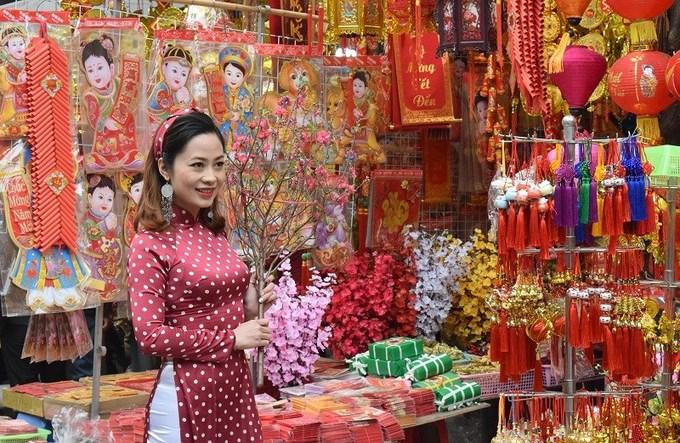 Những điểm chụp ảnh đẹp dịp Tết Nguyên Đán ở Hà Nội