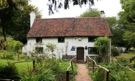 Khung cảnh lãng mạn ởSurrey Hills, Anh. Ảnh: Guardian.
