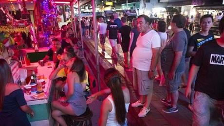 Một khu phố tại Pattaya. Ảnh:News.