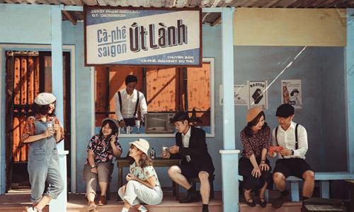 Bên trong phim trường tái hiện Tết xưa khắp ba miền ở Đà Nẵng