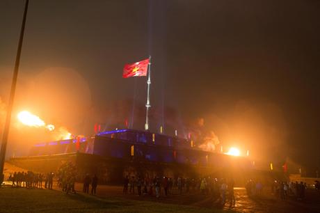 Đây là một sự kiện không chỉ tôn vinh và bảo tồn giá trị lịch sử của Kỳ Đài mà còn góp phần tạo thêm điểm hấp dẫn về đêm cho du lịch cố đô.
