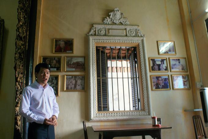 Căn phòng cho khách thuê nghỉ lại trong nhà cổ 'Người tình'