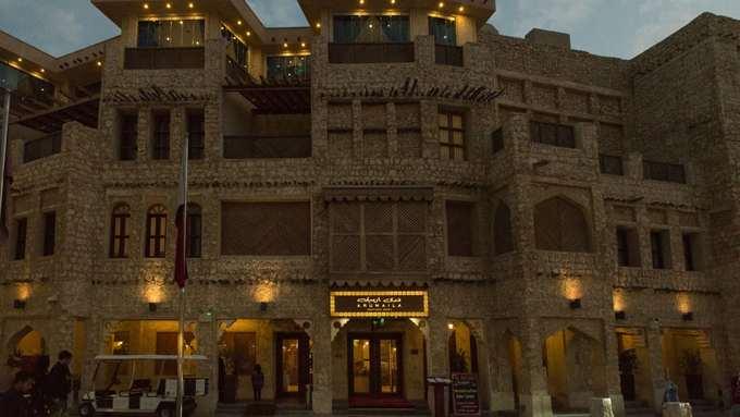 Bên trong khu 'chợ đứng' ở thủ đô Qatar