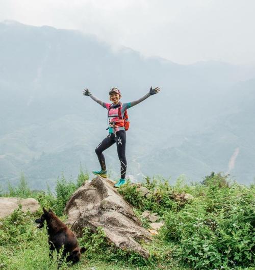 Tăng Nguyệt Minh là người phụ nữ luôn giữ được ước mơ và dám thực hiện được ước mơ của mình. Ảnh: NVCC.