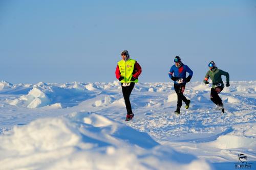 Các vận động viên tham gia Cuộc thi Marathon Bắc Cực dự kiến tổ chức vào tháng 4 sắp tới. Ảnh: BTC.