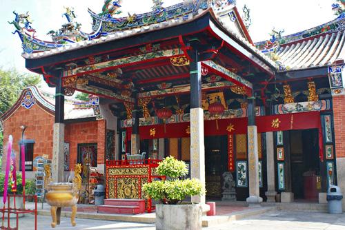 Đền Rắn - điểm đến hút khách ở Penang. Ảnh: Wiki.